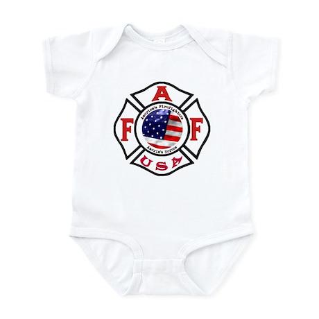 AAFF Firefighter Infant Bodysuit