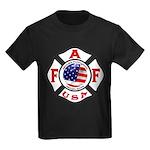 AAFF Firefighter Kids Dark T-Shirt