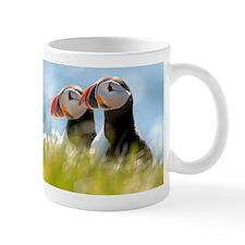 Puffin Pair Small Mug