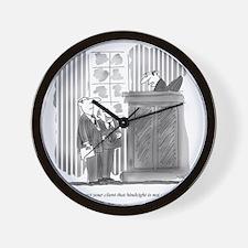 Legal Defense_Hindsight Wall Clock