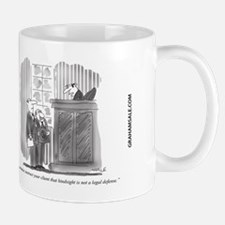 Legal Defense_Hindsight Small Small Mug