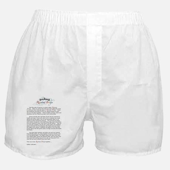 Rainbow Bridge Boxer Shorts