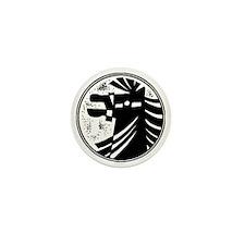 horseA73red Mini Button