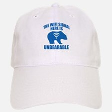 The Wifi Signal Here Is Unbearable Baseball Baseball Cap