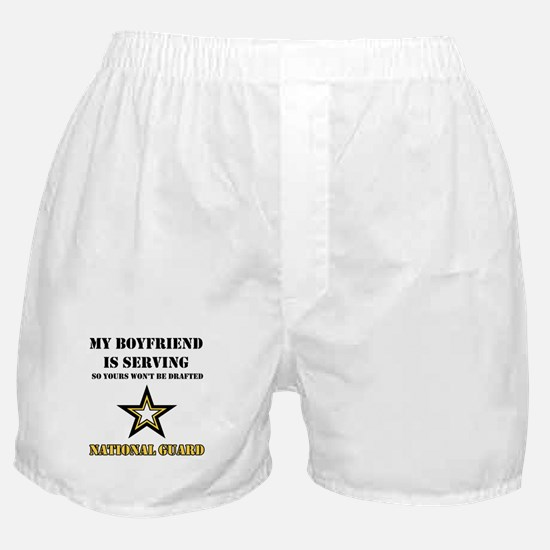 National Guard - My Boyfriend Boxer Shorts