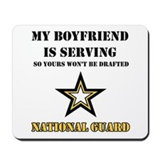 National Guard - My Boyfriend Mousepad