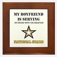 National Guard - My Boyfriend Framed Tile