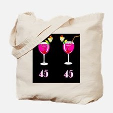 GLAMOROUS 45TH Tote Bag