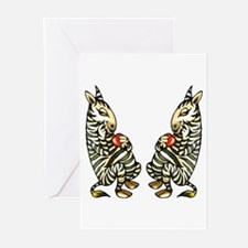 ZEBRAS IN LOVE Valentine Cards (Pk of 10)