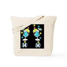 DAZZLING 50TH Tote Bag