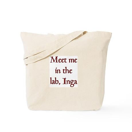 inga lab Tote Bag