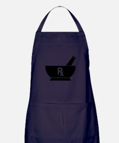 Mortar and Pestle Rx Apron (dark)