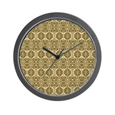 Elegant Vintage Gold Wall Clock
