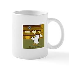 I love cheese! Mugs