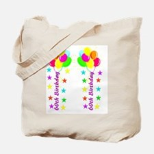 CUTE 60TH Tote Bag