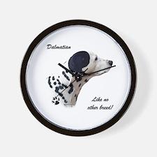 Dalmatian Breed Wall Clock