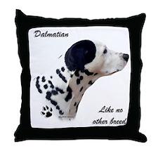 Dalmatian Breed Throw Pillow