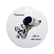 Dalmatian Breed Ornament (Round)