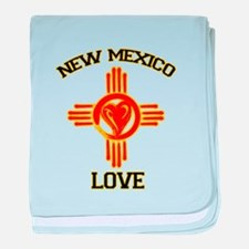 NEW MEXICO LOVE baby blanket
