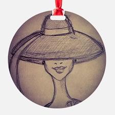 Elegant Lady Ornament