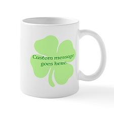 Custom Saint Patricks Day Design Mugs