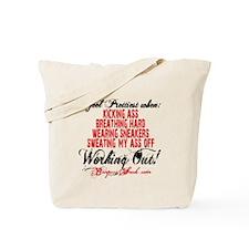 I FEEL PRETTIEST WHEN - WHITE Tote Bag
