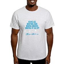 I FEEL PRETTIEST WHEN - BLUE T-Shirt