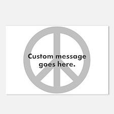 Say Your Peace - Custom Peace Design Postcards (Pa