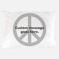 Say Your Peace - Custom Peace Design Pillow Case