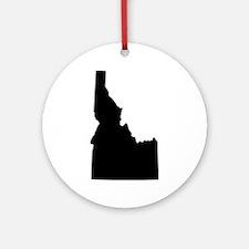 Black Ornament (Round)