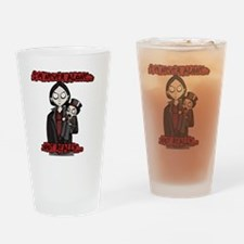 Nil and Chatterbox- Im Never Alone Drinking Glass