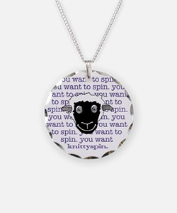 Spinny sheep Necklace