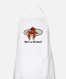 """""""Where's Our Little Andrae?"""" BBQ Apron"""