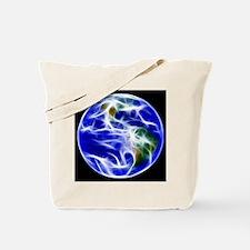 Planet Earth World Globe Tote Bag