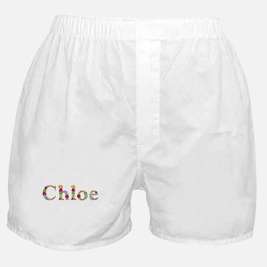 Chloe Bright Flowers Boxer Shorts