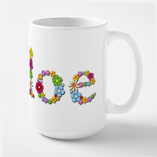 Chloe Bright Flowers Mugs