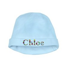 Chloe Bright Flowers baby hat