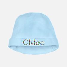 Chloe Bright Flowers baby hat