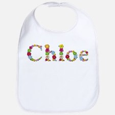 Chloe Bright Flowers Bib