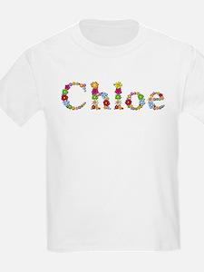 Chloe Bright Flowers T-Shirt