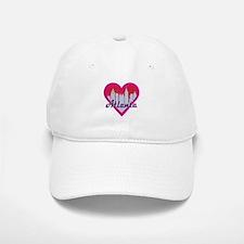 Atlanta Skyline Heart Baseball Baseball Baseball Cap