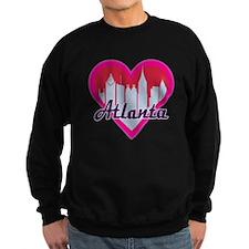 Atlanta Skyline Heart Sweatshirt