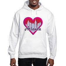 Atlanta Skyline Heart Hoodie