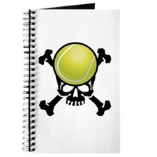 Tennis Skull Journal