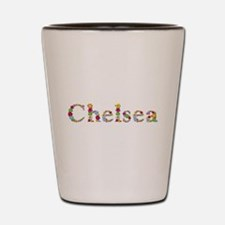 Chelsea Bright Flowers Shot Glass