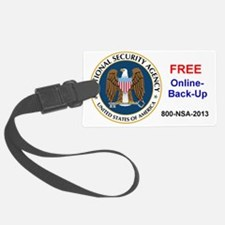 NSA Online Backup Luggage Tag