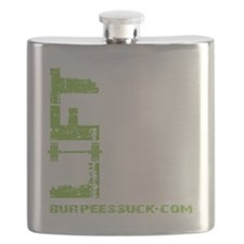 LIFT LIKE YOU MEAN IT - LIME Flask