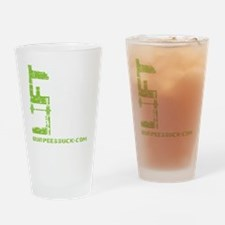 LIFT LIKE YOU MEAN IT - LIME Drinking Glass