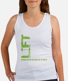 LIFT LIKE YOU MEAN IT - LIME Women's Tank Top