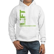 LIFT LIKE YOU MEAN IT - LIME Hoodie